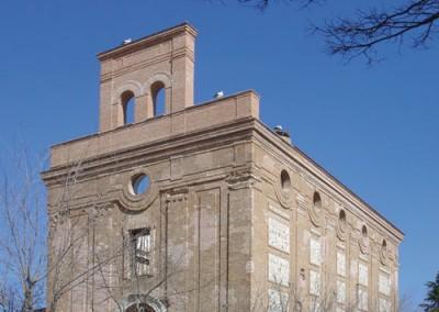 Restauración Iglesia Perales del Río (s. XVIII) para Centro de observación de aves