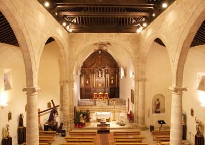 Interior Restauración Iglesia Ntra. Sra. de la Asunción